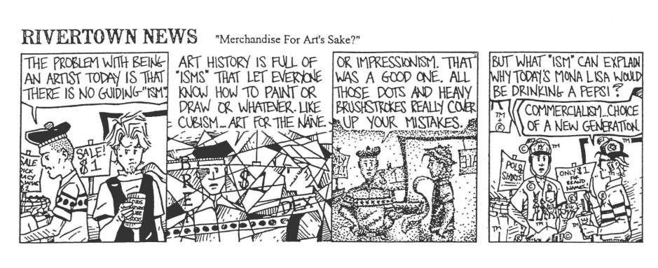 Love the artwork on this strip. You can tell Tim had fun with it.