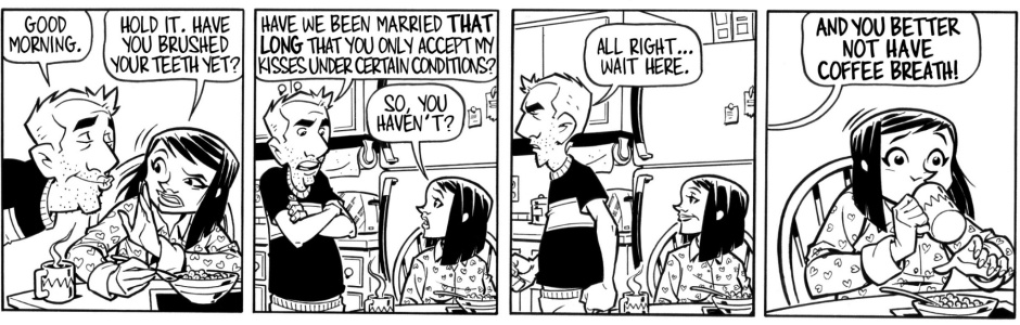 Since we're running out of Sunday strips, we're going to switch to Tues/Thu/Sat for awhile. If you like a comic, please share!